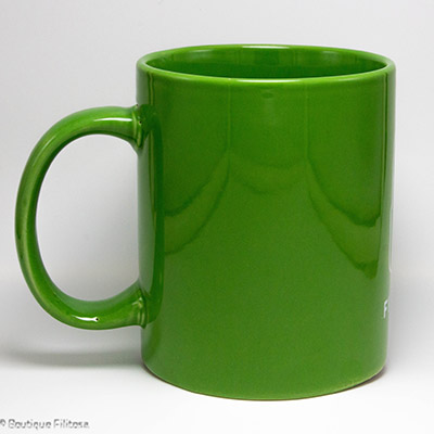 MUG vert Filitosa XIII côté